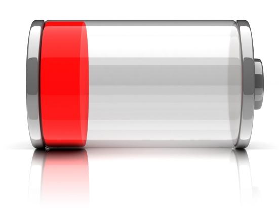 Empty battery
