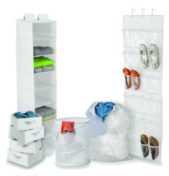 Honey-Can-Do Back-to-School Hom Organizer Kit