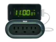 RCA 3 Outlet Travel Charging Station